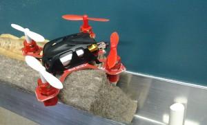 Drone a la pissarra