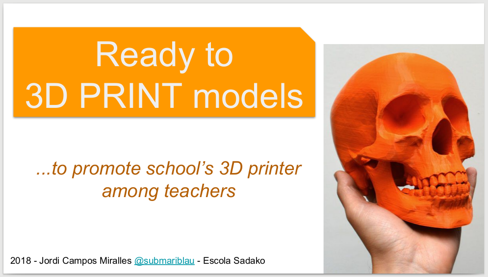 Ready to 3D PRINT models